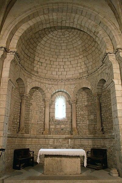 Photo du Monument Historique Eglise paroissiale Notre-Dame et Saint-Pierre situé à Saint-Christol