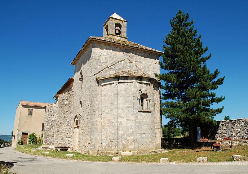 Photo du Monument Historique Eglise paroissiale de la Trinité situé à Saint-Trinit