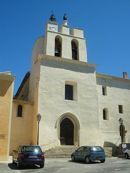 Photo du Monument Historique Eglise paroissiale Saint-Pierre et Saint-Paul situé à Sarrians