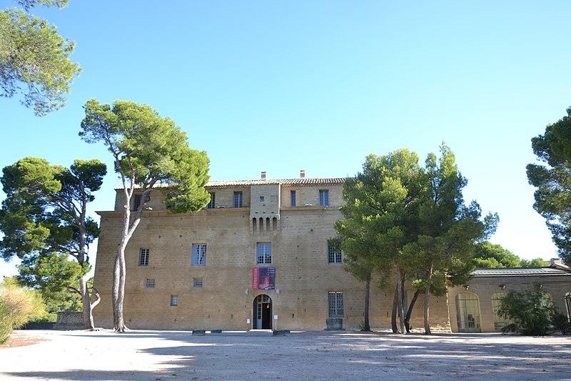 Photo du Monument Historique Château de Saumane-de-Vaucluse situé à Saumane-de-Vaucluse