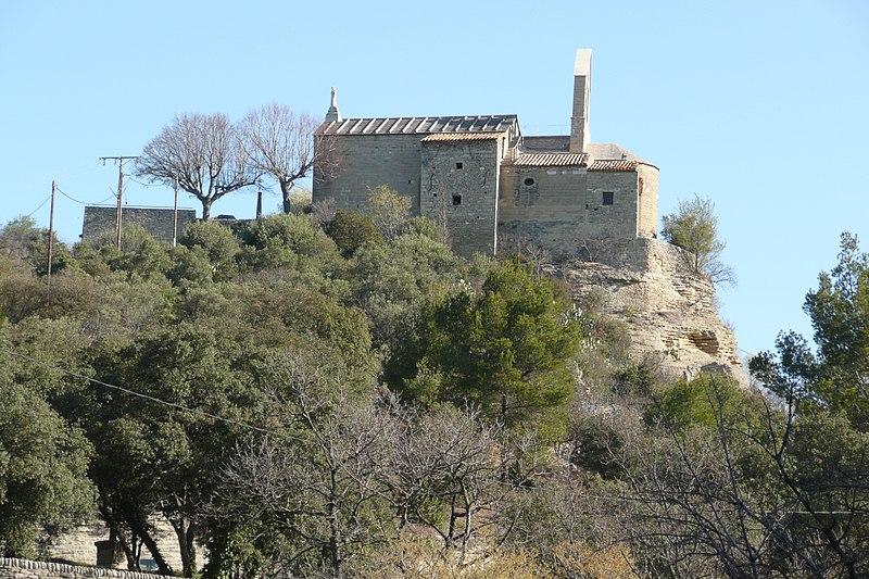 Photo du Monument Historique Eglise paroissiale Saint-Trophime situé à Saumane-de-Vaucluse