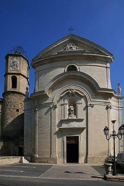 Photo du Monument Historique Eglise paroissiale Saint-Etienne situé à Sérignan-du-Comtat