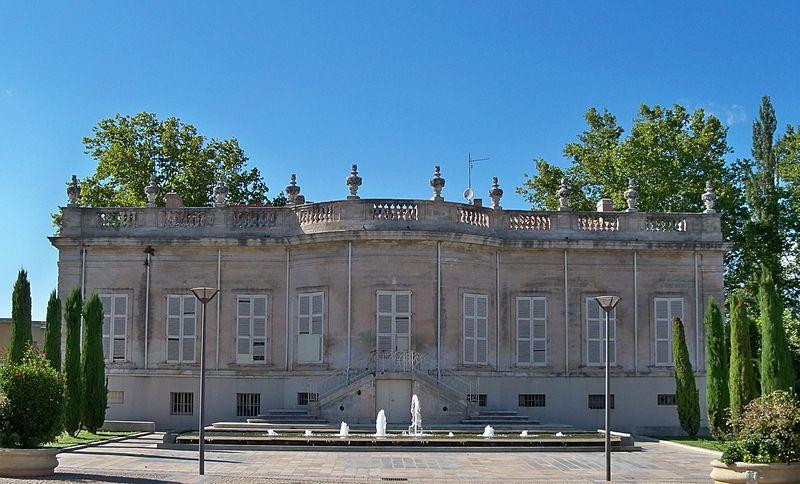 Photo du Monument Historique Château de Saint-Hubert ou Hôtel de Saint-Hubert situé à Sorgues