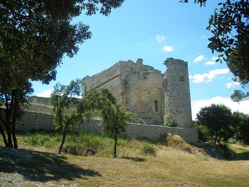 Photo du Monument Historique Monastère fortifié de Thouzon situé à Le Thor