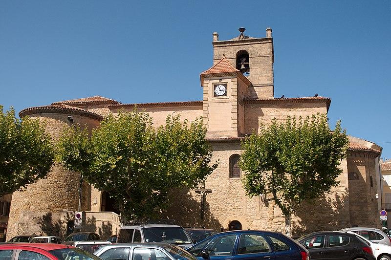 Photo du Monument Historique Eglise Notre-Dame de Romégas situé à Tour-d'Aigues (La)