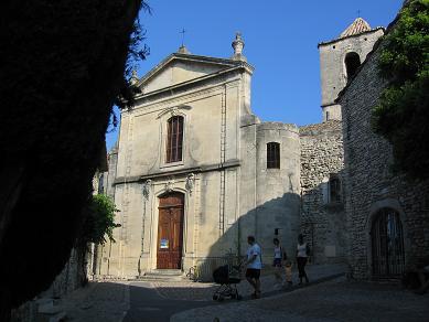 Photo du Monument Historique Ancienne église de la Haute-Ville, dite aussi ancienne cathédrale de la Haute-Ville situé à Vaison-la-Romaine