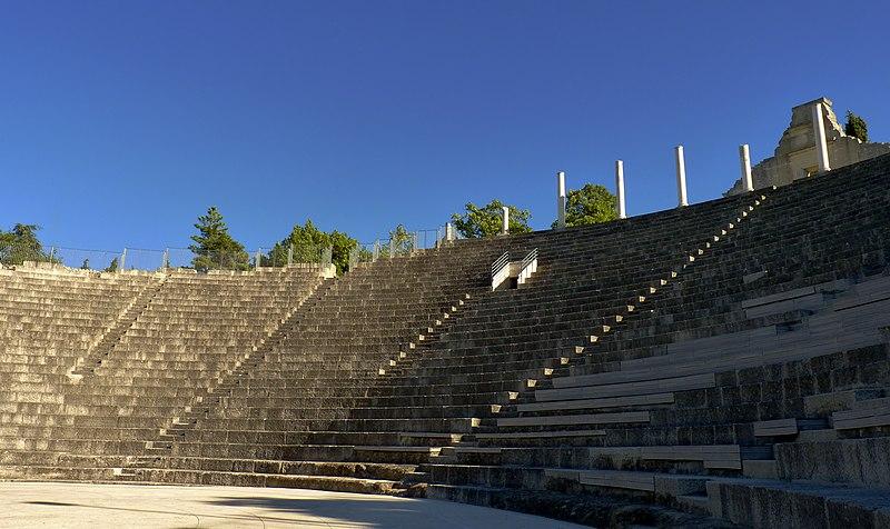 Photo du Monument Historique Théâtre romain situé à Vaison-la-Romaine