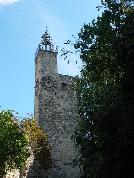 Photo du Monument Historique Tour de l'Horloge situé à Vaison-la-Romaine