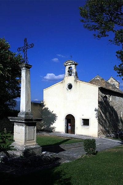 Photo du Monument Historique Chapelle des Pénitents Blancs situé à Valréas