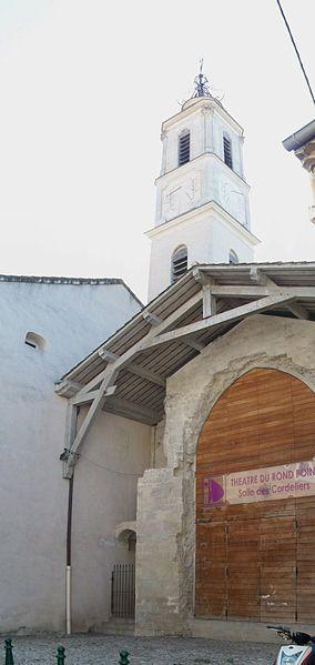 Photo du Monument Historique Ancien couvent des Cordeliers situé à Valréas