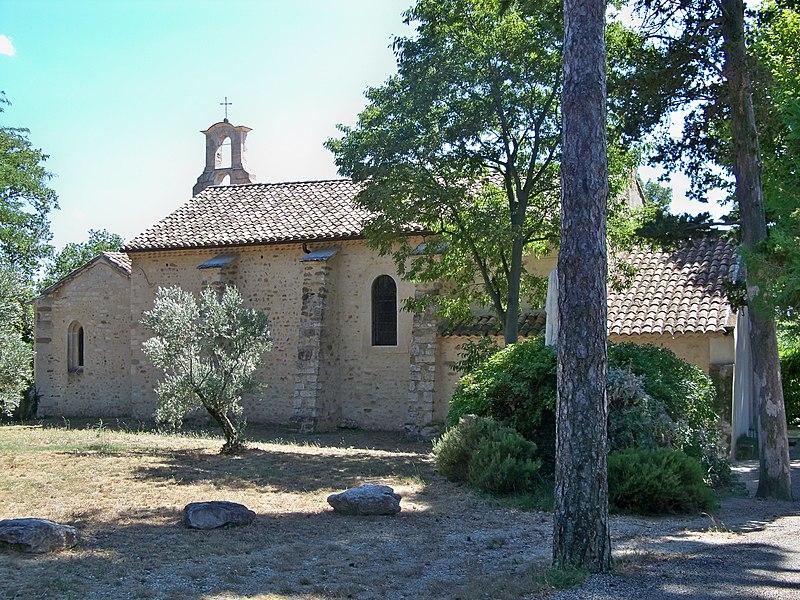 Photo du Monument Historique Chapelle Notre-Dame-des-Vignes et son ermitage situé à Visan