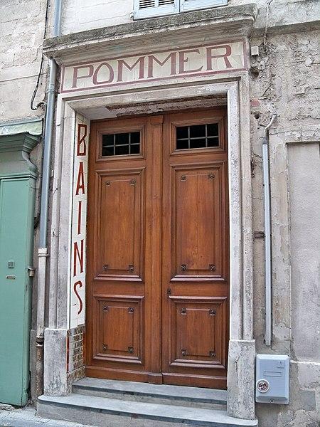 Photo du Monument Historique Etablissement de bains Pommer situé à Avignon