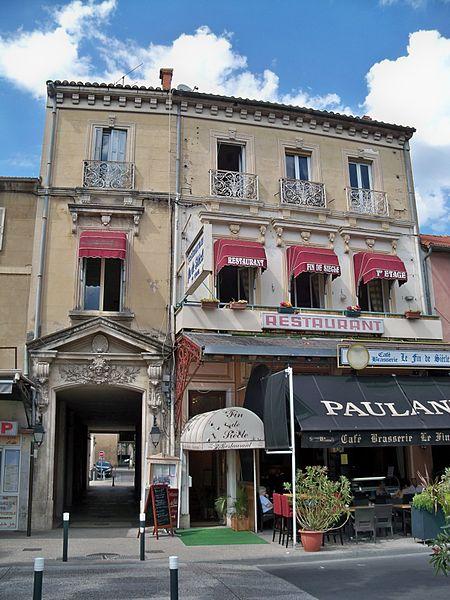 Photo du Monument Historique Immeuble situé à Cavaillon
