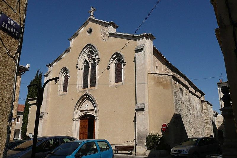 Photo du Monument Historique Eglise Notre-Dame-de-Nazareth situé à Monteux