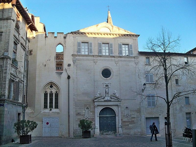 Photo du Monument Historique Ancienne église Notre-Dame la Principale dite aussi ancienne chapelle des Pénitents blancs situé à Avignon