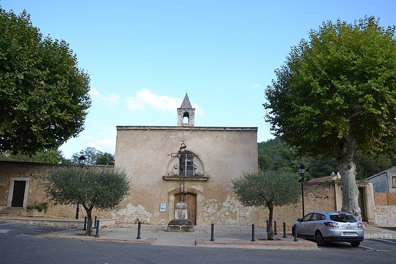 Photo du Monument Historique Chapelle Saint-Pierre-aux-Liens, située à Derboux situé à Mondragon