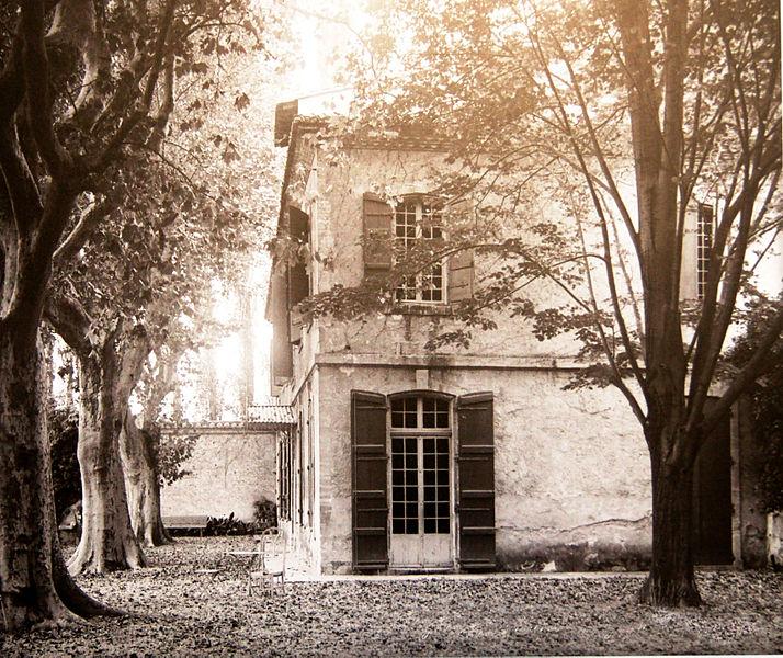 Photo du Monument Historique Domaine de la Queyrelle, à Montfavet situé à Avignon