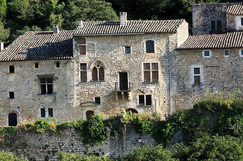 Photo du Monument Historique Maison, à Oppède-le-Vieux, dite maison Gabrielli situé à Oppède