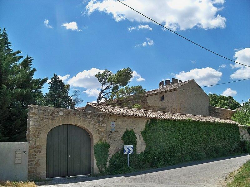 Photo du Monument Historique Bastide de Trévouze situé à Entraigues-sur-la-Sorgue