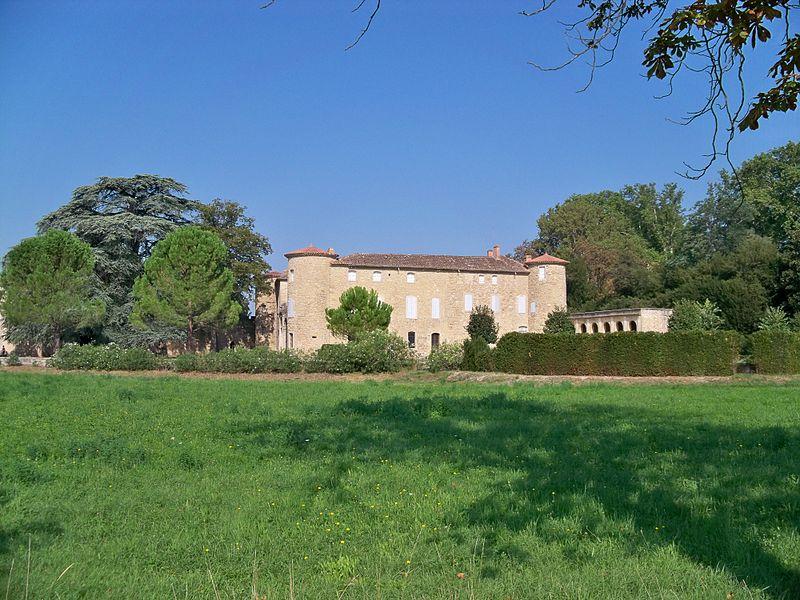 Photo du Monument Historique Domaine dit La Terre de Causans situé à Jonquières