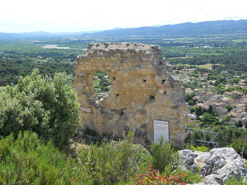 Photo du Monument Historique Vieux château situé à Mérindol