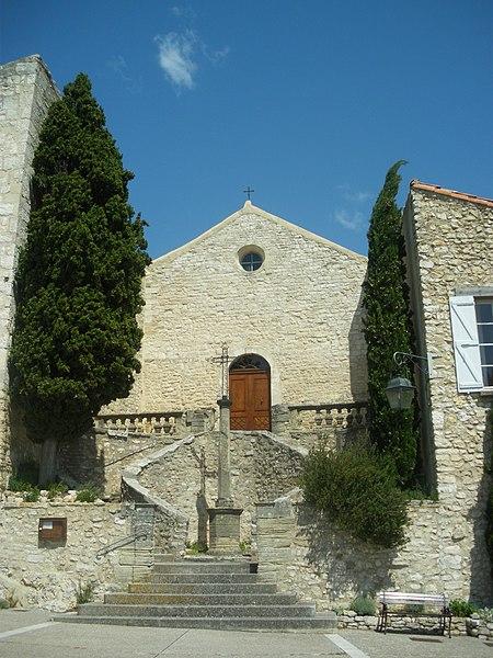 Photo du Monument Historique Eglise paroissiale Saint-Pierre-et-Saint-Paul situé à Méthamis