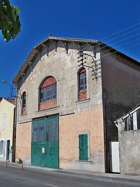 Photo du Monument Historique Graineterie Roux situé à Carpentras