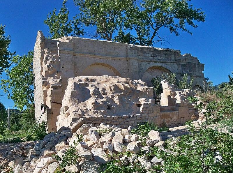 Photo du Monument Historique Chapelle Saint-Michel situé à Crillon-le-Brave