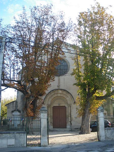 Photo du Monument Historique Eglise des Valayans, dite aussi Notre-Dame de l'Immaculée Conception situé à Pernes-les-Fontaines