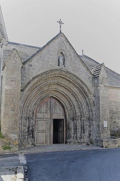 Photo du Monument Historique Eglise Saint-Philibert situé à Beauvoir-sur-Mer