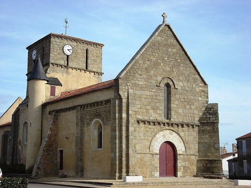 Photo du Monument Historique Eglise situé à Le Bernard