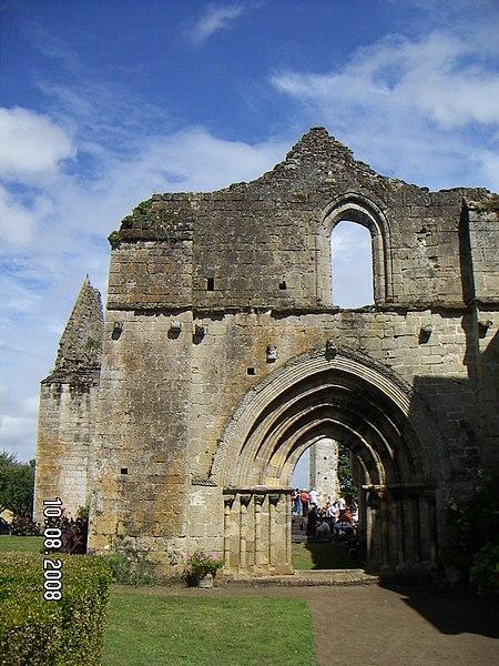 Photo du Monument Historique Abbaye de l'Ile-Chauvet situé à Bois-de-Céné