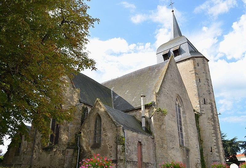 Photo du Monument Historique Eglise situé à Bois-de-Céné