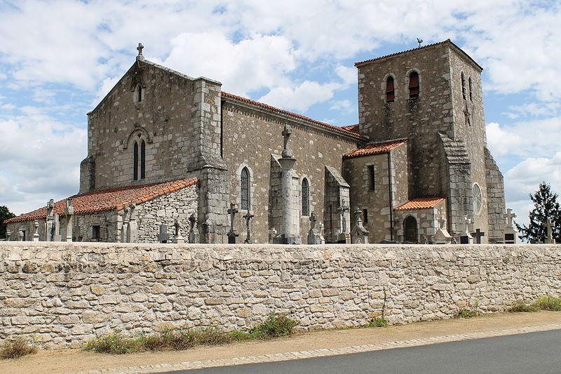 Photo du Monument Historique Eglise situé à Les Châtelliers-Châteaumur