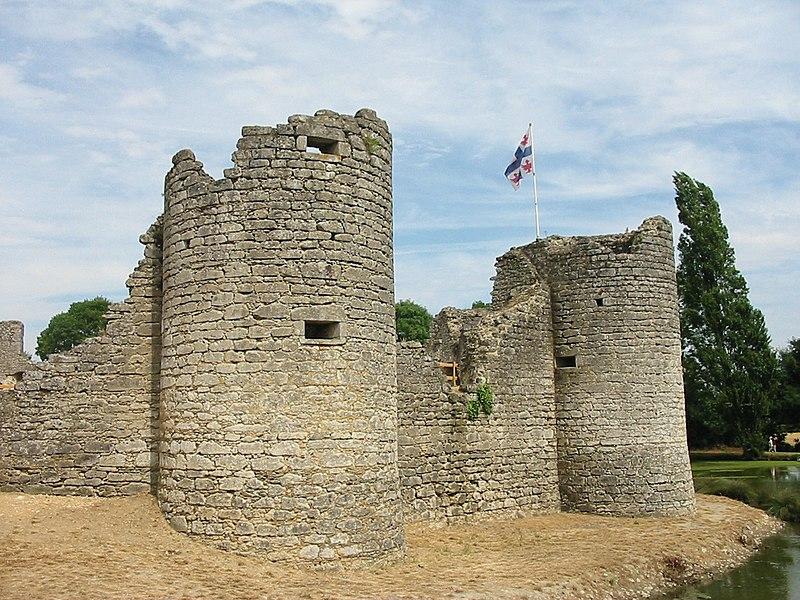 Photo du Monument Historique Château situé à Commequiers