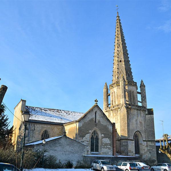 Photo du Monument Historique Eglise Saint-Jean situé à Fontenay-le-Comte