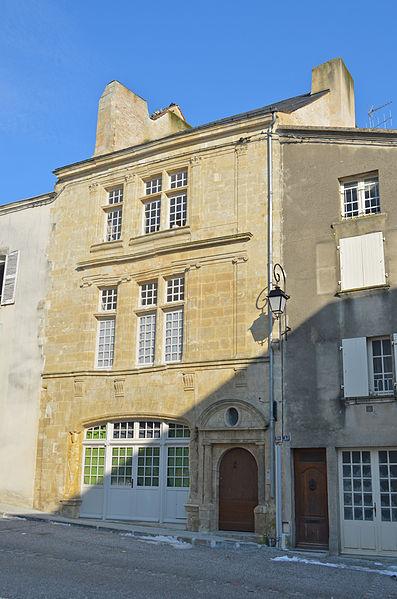 Photo du Monument Historique Immeuble situé à Fontenay-le-Comte