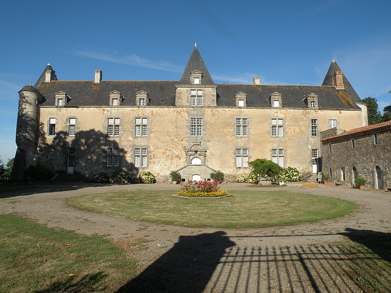 Photo du Monument Historique Château de la Brunière situé à Givre (Le)