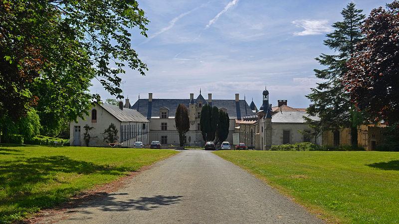 Photo du Monument Historique Château de Boistissandeau situé à Les Herbiers
