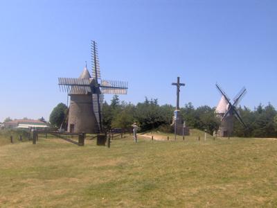 Photo du Monument Historique Moulins à vent du Mont des Alouettes situé à Les Herbiers