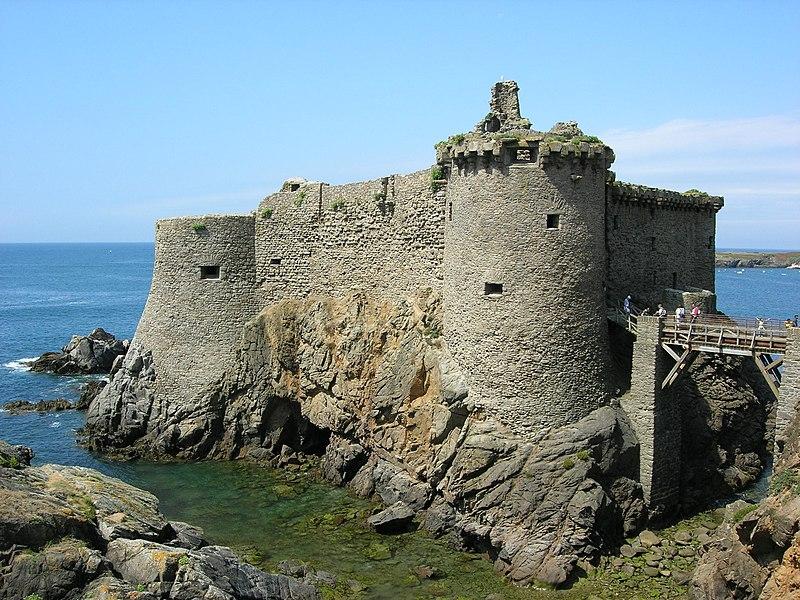 Photo du Monument Historique Château situé à Ile-d'Yeu (L')