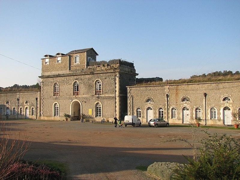 Photo du Monument Historique Fort de Pierre-Levée situé à L'Ile-d'Yeu