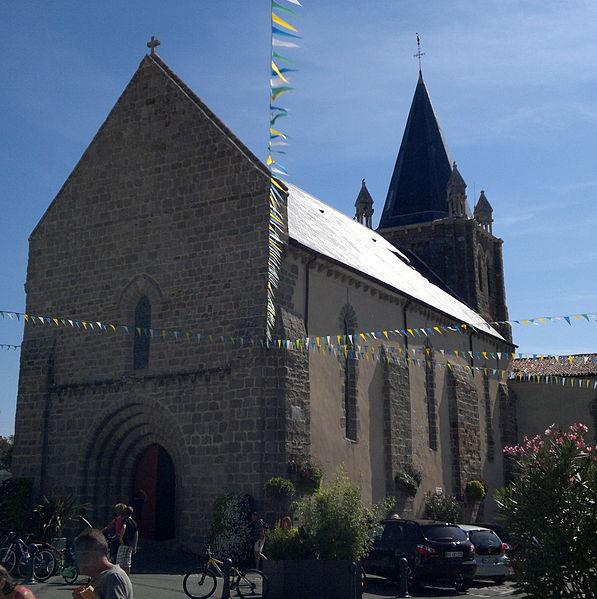 Photo du Monument Historique Eglise situé à Longeville-sur-Mer