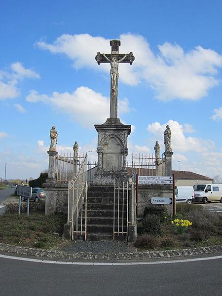 Photo du Monument Historique Cimetière situé à Maillezais