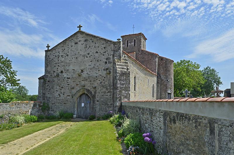 Photo du Monument Historique Eglise situé à Mesnard-la-Barotière