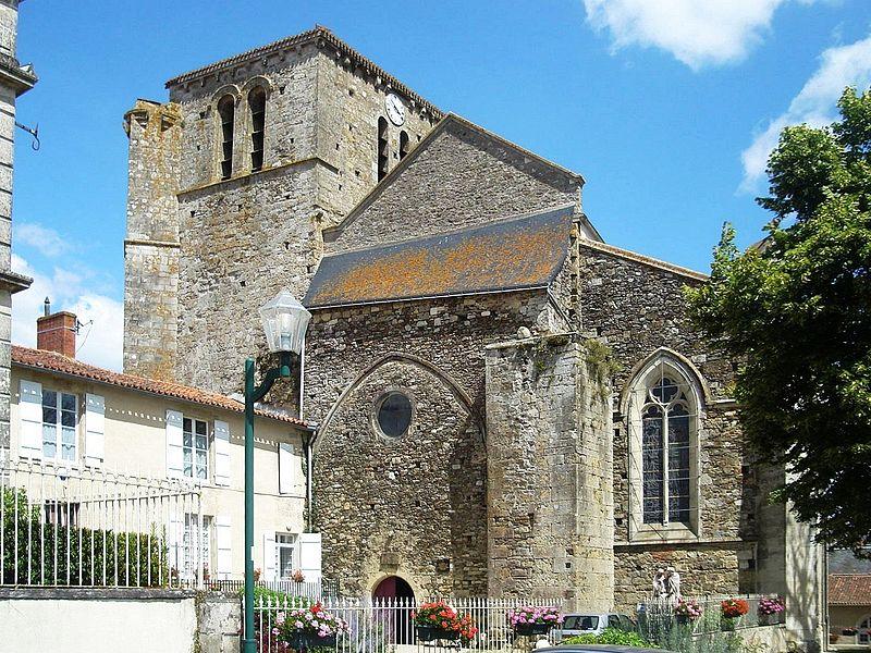 Photo du Monument Historique Eglise situé à Mouilleron-en-Pareds