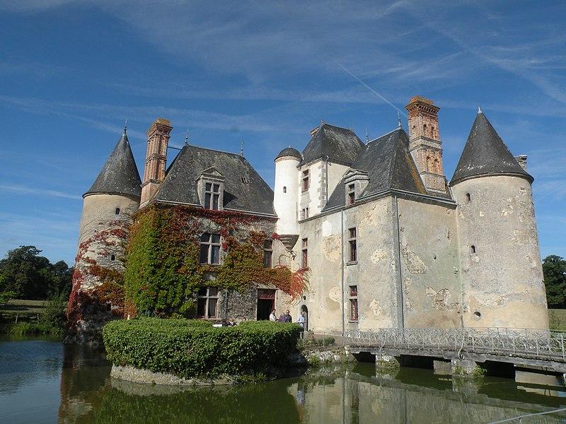 Photo du Monument Historique Château de la Cantaudière situé à Moutiers-les-Mauxfaits