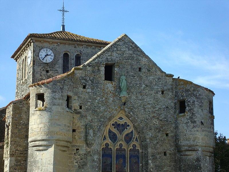 Photo du Monument Historique Eglise situé à Réaumur