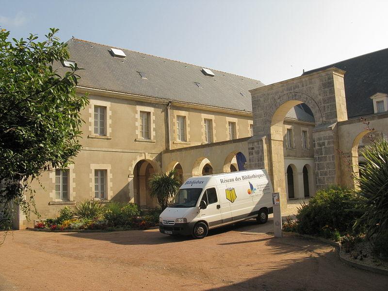 Photo du Monument Historique Couvent des Bénédictines de Sainte-Croix situé à Les Sables-d'Olonne