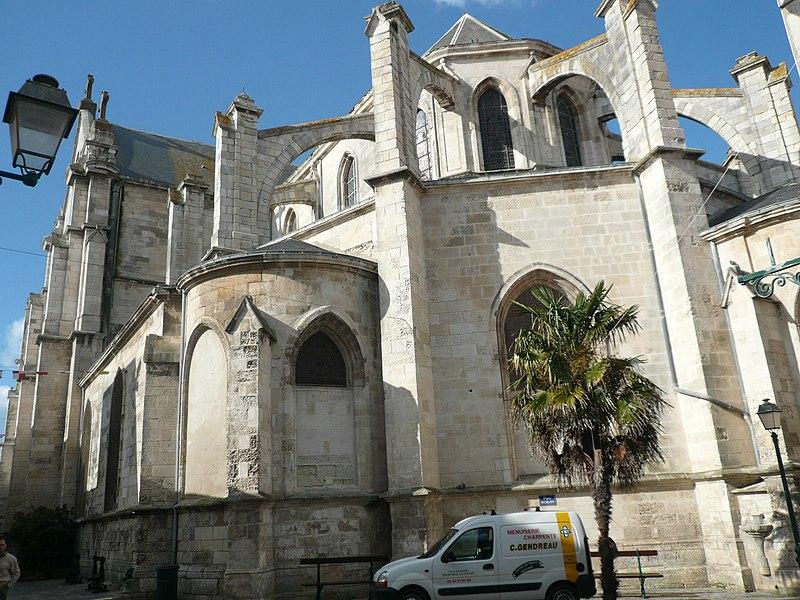Photo du Monument Historique Eglise Notre-Dame-du-Bon-Port situé à Les Sables-d'Olonne